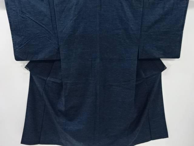 手織り真綿紬男物着物アンサンブル【リサイクル】【中古】
