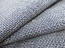 抽象模様織り出し手織り紬着物【アンティーク】【中古】 3