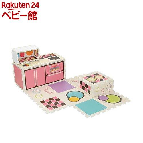MYダイニングキッチン(1セット)【nbzs-08】【ローヤル】[おもちゃ 遊具 ままごとグッズ]