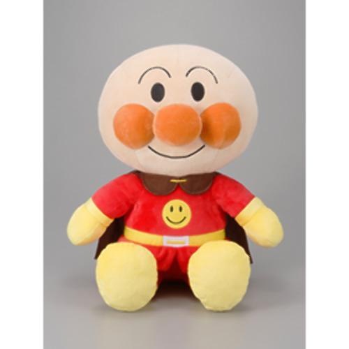 アンパンマン ふわりん スマイルぬいぐるみ アンパンマン Mサイズ(1個)【セガトイズ】[おもちゃ 遊具 人形 ぬいぐるみ]
