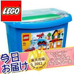 365日あす楽★代引・送料無料★レゴ 基本セット 青のコンテナ スーパーデラックスレゴ LEGO レ...