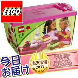 今日お届け★代引・送料無料★レゴ デュプロ ピンクのケーキブロックセット レゴ LEGO レゴジャ...