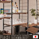 【Radi】ラディシリーズ 突っ張り壁面間仕切りラック幅60×奥行40...