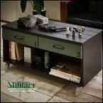 ミリタリー家具テーブルデスク
