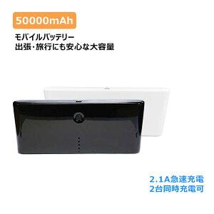 50,000mAhの超大容量モバイルバッテリ―