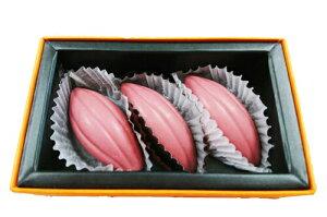 ラ・ネージュ 話題の ルビーチョコレート 9g×3個