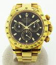 ○【中古】美品【ROLEX ロレックス】 デイトナ 116528 K番 YG無垢 自動巻腕時計