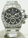 ○【中古】美品【ROLEX ロレックス】 デイトナ 116520 D番 黒文字盤 自動巻腕時計