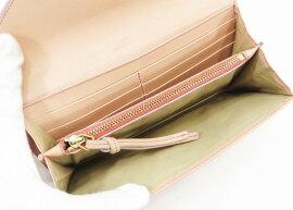 ◇【中古】【Chloeクロエ】パッチワーク長財布3P0171-733財布ピンク