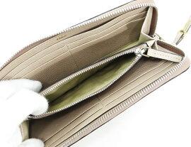 ◇【】美品【Chloeクロエ】オーロラL字ファスナー財布3P0143-043財布ROPEBEIGE