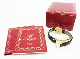 ◇【】【Cartierカルティエ】マストヴェルメイユトリニティクォーツ腕時計
