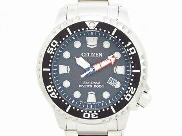 【中古】 【CITIZEN シチズン】 PROMASTER プロマスター スタンダードダイバー BN0156-56E ソーラー腕時計