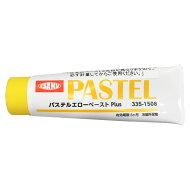 イサム塗料パステルエローペースト80gイサムパテペーストラクーダパテ車両用下地塗料硬化剤ISAMU