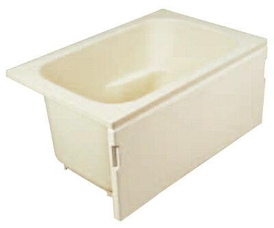 JFE FRP浴槽 1方全エプロン 据置タイプ 底面転倒防止加工 間口1095mm 奥行720mm 高さ540mm FRPバスタブ 据え置き 底面エンボス加工 KFP110T:ネットリフォ