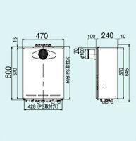 Rinnaiフルオートガスふろ給湯器エコジョーズ16号リモコンセット(浴室・台所)PS扉内設置型PS前排気型RUF-E1605ATMBC-220VC-AユッコUFECOジョーズリンナイ
