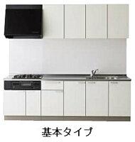 クリナップラクエラシンシアシリーズ壁付I型開き扉プラン間口2100mm奥行600mm高さ850mmTUシンク食器洗い乾燥機なしrakueraclenup