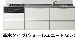 クリナップ ラクエラ シンシアシリーズ 壁付 I型 スライド収納プラン 間口2250mm 奥行650mm 高さ850mm TUシンク 食器洗い乾燥機なし ウォールユニットなし rakuera clenup:ネットリフォ