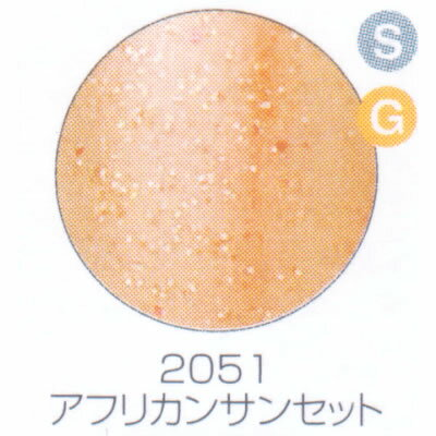 バイオスカルプチュアジェル カラージェル シアー グリッター&カラー アフリカンサンセット 2051【C】