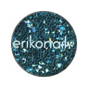 エリコネイル ホログラム ERI-45 ライトブルー 丸 1.0mm / 約1g (メール便 対応)