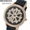 BROOKIANA(ブルッキアーナ) スピンウォッチ 腕時計...
