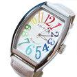 フランク三浦 復活!!新もでる Frank MIURA 腕時計 レインボーホワイト FM06K-CRW 【あす楽対応】