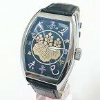 フランク三浦 戦国武将モデル腕時計 偽蒔絵 家紋 FM06K-TOYOTOMI 豊臣 秀吉バージョン 天下統一 メンズウォッチ【あす楽対応】