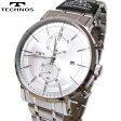 TECHNOS(テクノス) クロノグラフ腕時計 デイト(日付表示)大きめフェイスウォッチ! T6482SS