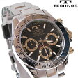 TECHNOS(テクノス) クロノグラフ腕時計 スポーティ精悍な多機能ウォッチ! TSM401LB 【あす楽対応】