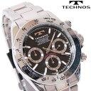 TECHNOS(テクノス) クロノグラフ腕時計 スポーティ精悍な多機能...