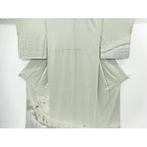 [Golden Week Sale 50% Off!] Recycle Writer Hand-painted Yuzen Branch Flower Pattern One Crest Visit [Free Shipping] [Kimono / Kimono / Kimono / Kimono] ]