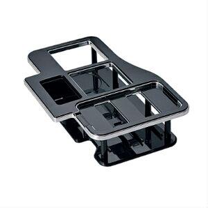 内装カー用品ドリンクテーブル ハイエース用 ブラック | 車種専用設計