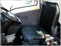 室内汚れをしっかりガード【軽トラック(運転席用)シートカバー】選べる2色(ブラック/グレー)