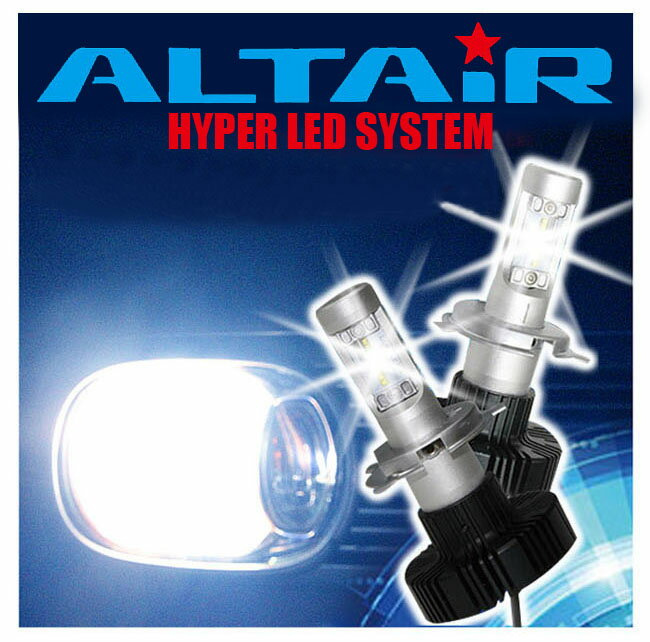 ライト・ランプ, ヘッドライト  F300S 26-93 LED 2 H4 8LED HiLO