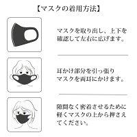 高性能洗える立体マスク5点セット