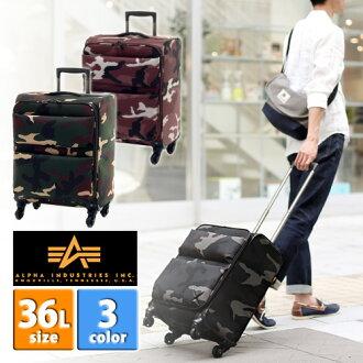 Soft carry suitcases! Alpha industries ALPHA INDUSTRIES (36 L) 048580001 men's P25Apr15