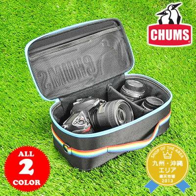 チャムス CHUMS!ブービーバード×CHUMSロゴが可愛い♪3つの仕切りで整理整頓も楽々行え、使い...