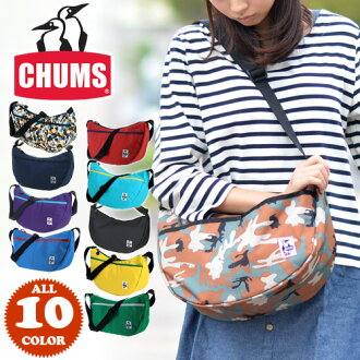 Kiamusze CHUMS! It is fs2gm a bag [point 10 times] at shoulder bag [nylon] [Small Banana Shoulder CD] CH60-0279