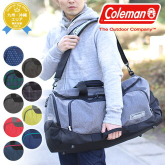 Coleman Coleman! cbd4021 men women 2-way Boston bag shoulder bag bag MD [BOSTON BAG MD] [store]