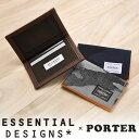 【3/25限定エントリーで最大P33倍】 エッセンシャルデザインズ×ポーター ESSENTIAL DESIGNS×PORTER カードケース e1333809 メンズ レディース コラ