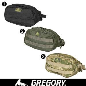 グレゴリー gregory!必需品を簡単に出し入れできるようにデザインされたウエストバッグ。モー...