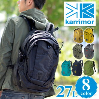 KARRIMOR! [Alpine × Trekking] [eclipse27] 359531 Men Women Mountaineering Bag Fashion Commuting School High School Students [10 times points] [Rakuten Gift Wrapping] P27Mar15 [Free Delivery]