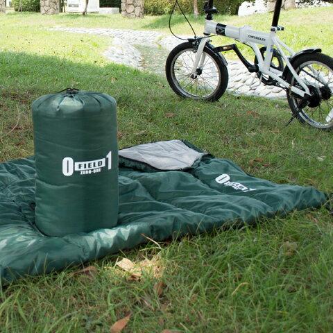 メーカー直送 ZERO-ONE FIELD シュラフ30 モスグリーン(寝袋 災害 緊急時用 アウトドア キャンプ ピクニック)(同梱 代引き 包装不可)