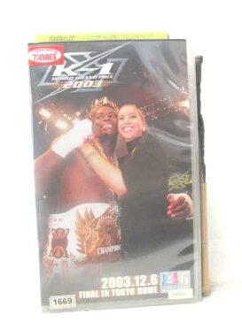 r2_15769 【中古】【VHSビデオ】K-1 WGP 2003 in 東京ドーム 決勝戦 [VHS] [VHS] [2004]
