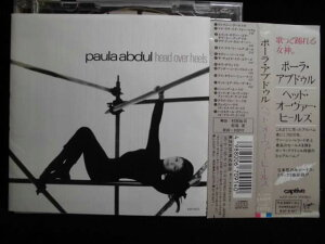 ZC40788【中古】【CD】head over heels/paula abdul