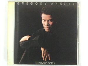 ZC70193【中古】【CD】I'LL PROVE IT TO YOU/GREGORY ABBOTT