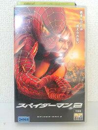 ZV01394【中古】【VHS】スパイダーマン2(字幕版)