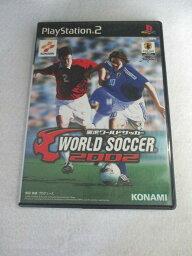 AG00943 【中古】 【ゲーム】 実況ワールドサッカー 2002/プレイステーション2/スポーツ