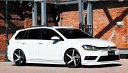 Alpil Volkswagen Golf 7 TSI Rear Wing リアウイング FRP(未...