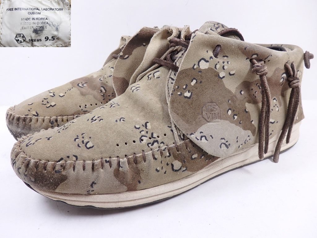 メンズ靴, スニーカー 08 Visvim FBT CAMO PACK Desert Camo US9.5 6C CAMO 27.5cm