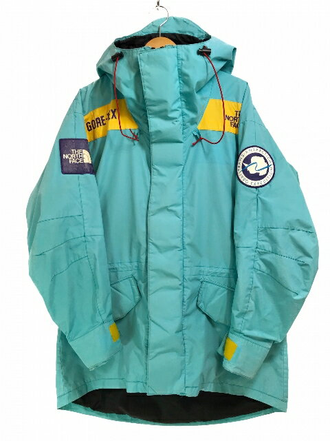 USA製 90s THE NORTH FACE Trans-Antarctica Expedition Parka 水色 M ノースフェイス トランスアンタークティカ エクスペディション 南極大陸横断 【中古品】